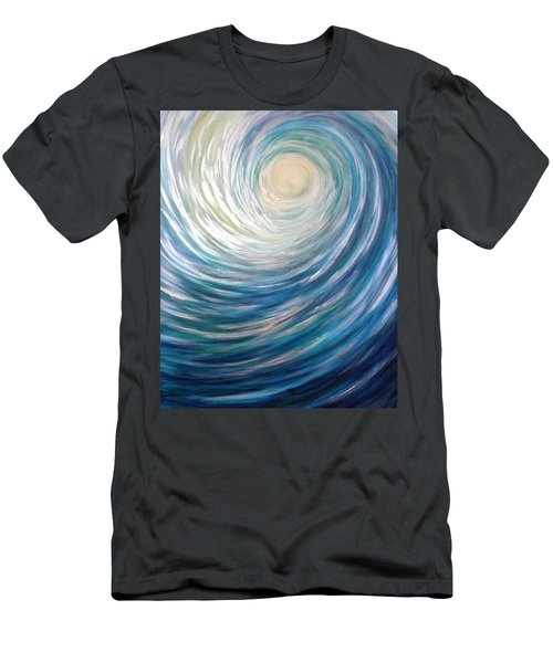 Wave Of Light Men's T-Shirt (Athletic Fit)