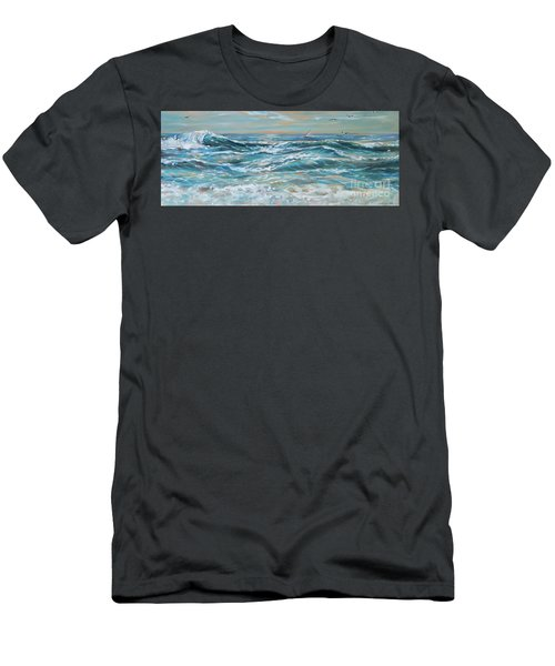 Waves And Wind Men's T-Shirt (Athletic Fit)