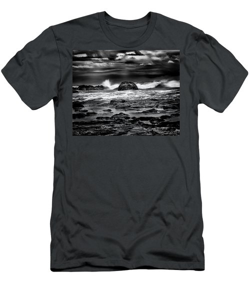 Waves At Dawn Men's T-Shirt (Athletic Fit)