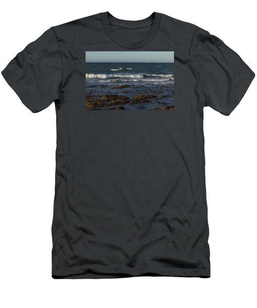 Waves Rolling Ashore Men's T-Shirt (Athletic Fit)