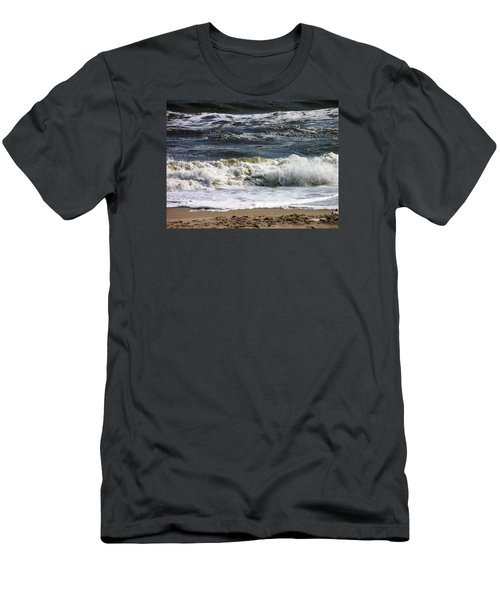 Waves, Waves, Waves Men's T-Shirt (Athletic Fit)