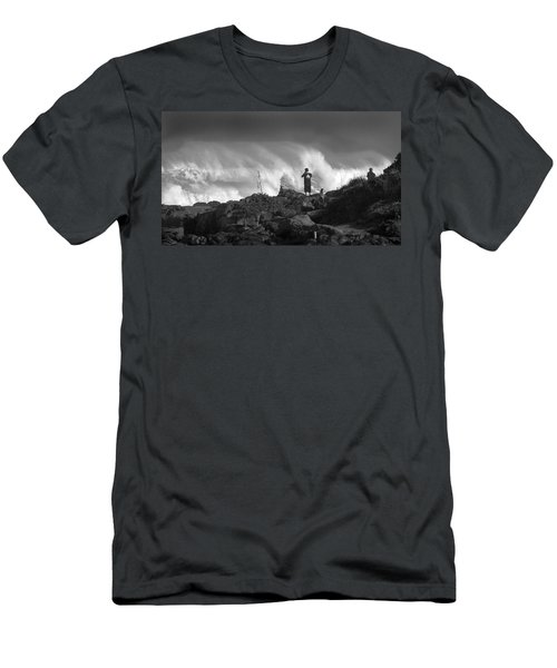Wavewatchers Men's T-Shirt (Athletic Fit)