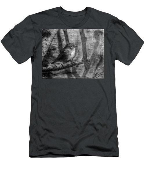 Wax-eye Men's T-Shirt (Athletic Fit)