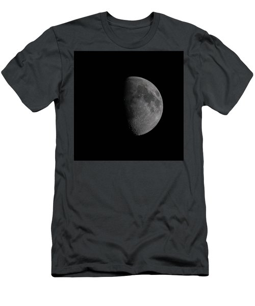 Waxing Gibbous Moon Men's T-Shirt (Athletic Fit)