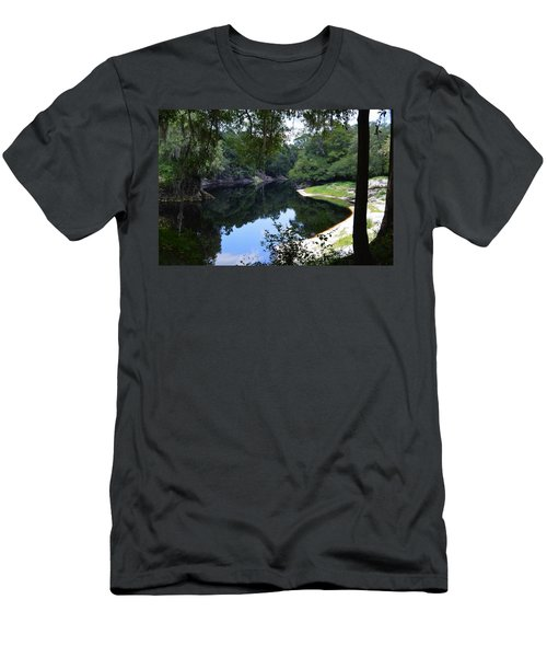 Way Down Upon The Suwannee River Men's T-Shirt (Slim Fit) by Warren Thompson