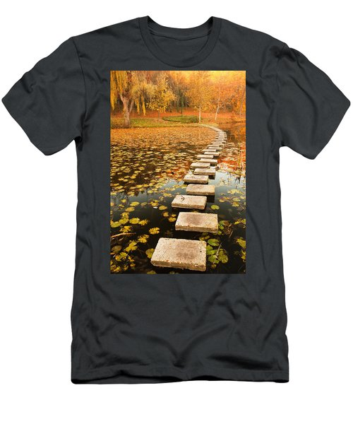 Way In The Lake Men's T-Shirt (Athletic Fit)