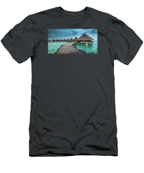 Way To Luxury 2x1 Men's T-Shirt (Slim Fit) by Hannes Cmarits