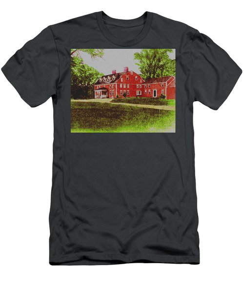 Wayside Inn 1875 Men's T-Shirt (Athletic Fit)