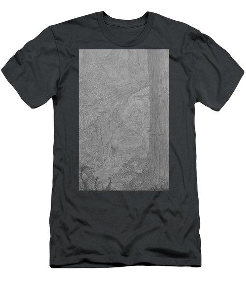 Wayward Wizard Men's T-Shirt (Slim Fit) by Corbin Cox