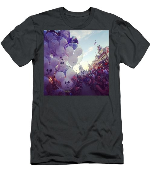 An Early Magical Morning  Men's T-Shirt (Athletic Fit)