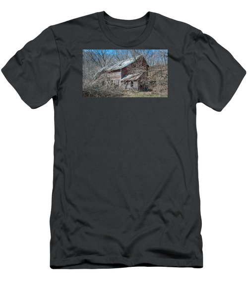 Men's T-Shirt (Slim Fit) featuring the photograph Weathered And Broken by Dan Traun