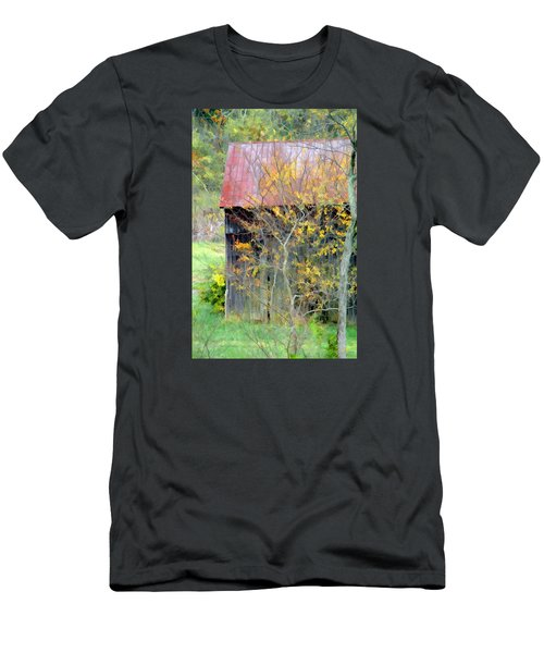 Weathered Barn 2 Men's T-Shirt (Athletic Fit)