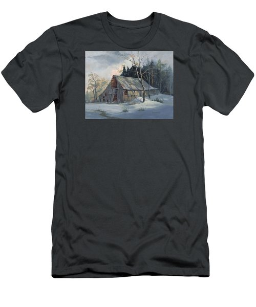 Weathered Sunrise Men's T-Shirt (Slim Fit) by Michael Humphries