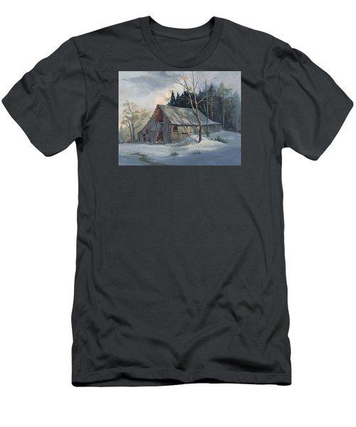 Weathered Sunrise Men's T-Shirt (Athletic Fit)