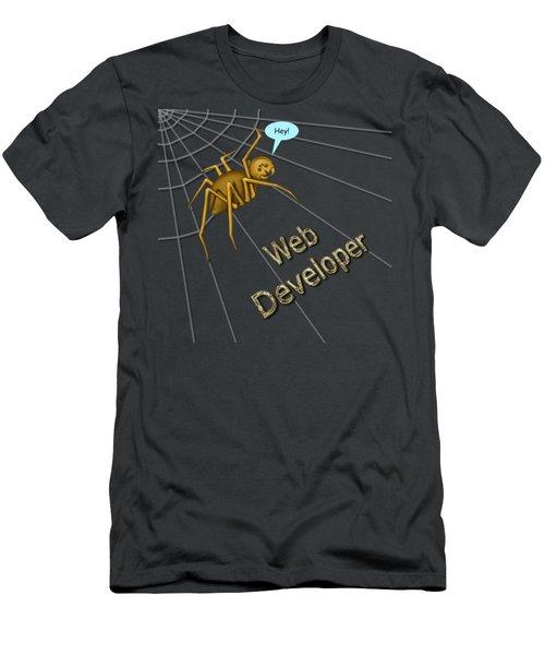 Web Developer Men's T-Shirt (Athletic Fit)