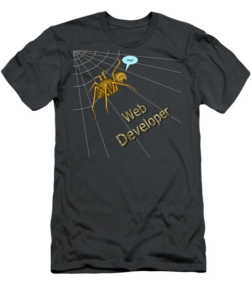Web Developer Men's T-Shirt (Athletic Fit)