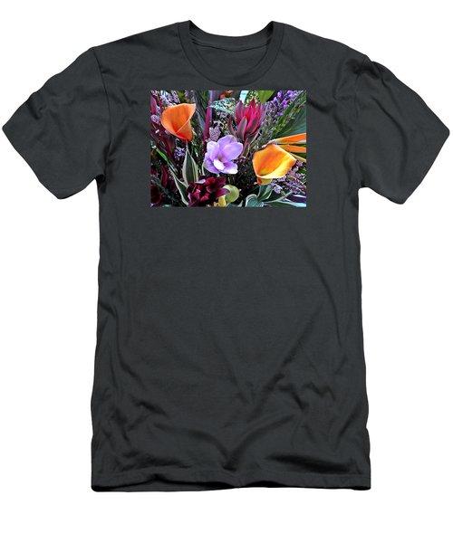Wedding Flowers Men's T-Shirt (Slim Fit)