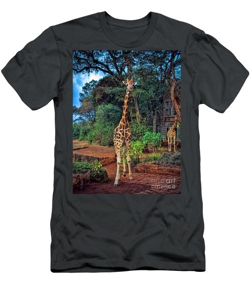 Welcome To Giraffe Manor Men's T-Shirt (Athletic Fit)
