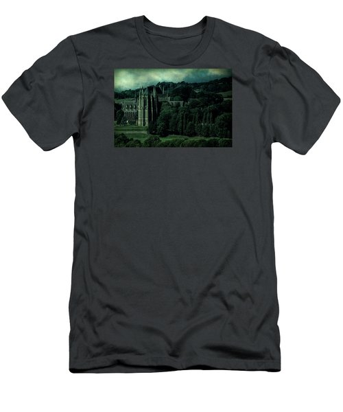 Men's T-Shirt (Athletic Fit) featuring the photograph Welcome To Wizardry School by Chris Lord