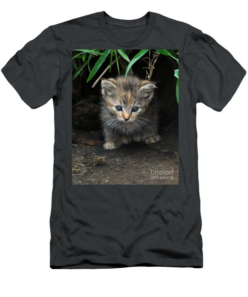 Welcome To The Jungle Men's T-Shirt (Slim Fit) by Eric Liller