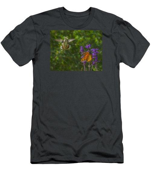 Welcome Vistors Men's T-Shirt (Athletic Fit)