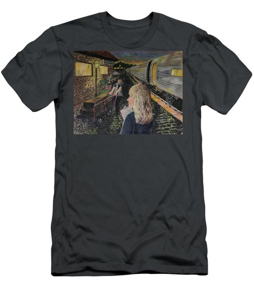 Welcoming The Guests Men's T-Shirt (Athletic Fit)