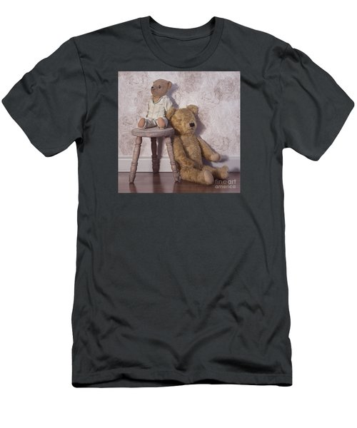 Men's T-Shirt (Slim Fit) featuring the photograph Well Loved by Linda Lees