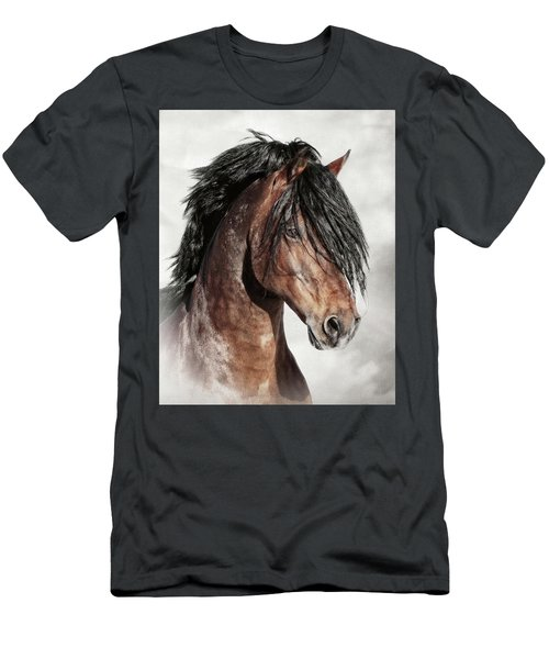 Welsh Cob Portrait Men's T-Shirt (Athletic Fit)