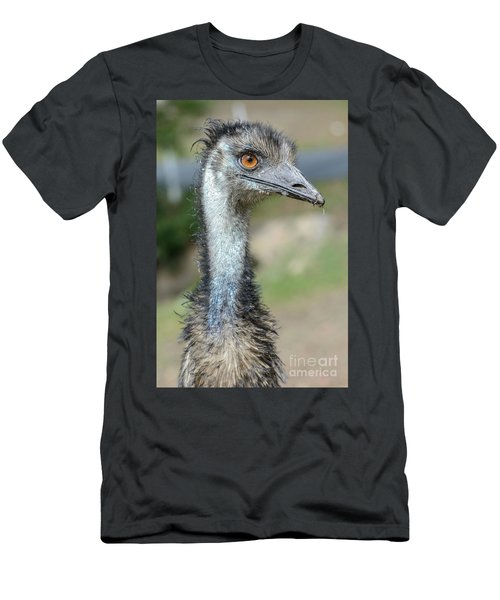 Emu 2 Men's T-Shirt (Slim Fit) by Werner Padarin