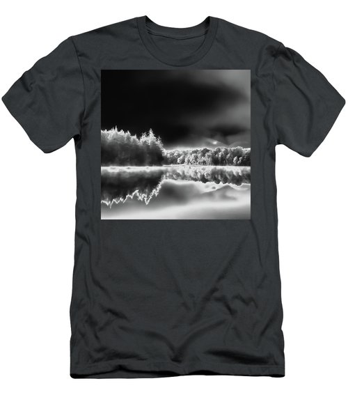 Men's T-Shirt (Athletic Fit) featuring the photograph West Lake Backlit by David Patterson
