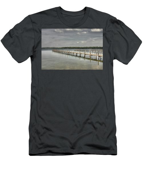 West Lake Docks Men's T-Shirt (Athletic Fit)