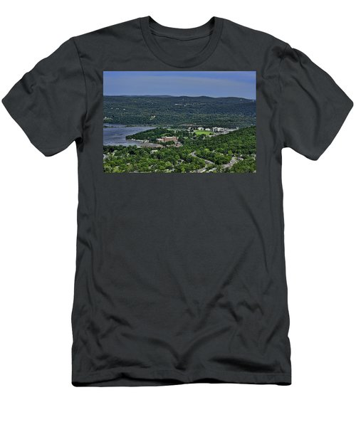 West Point From Storm King Overlook Men's T-Shirt (Athletic Fit)