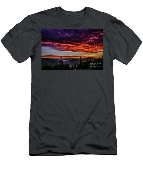 West Virginia Highland Dawn Men's T-Shirt (Athletic Fit)
