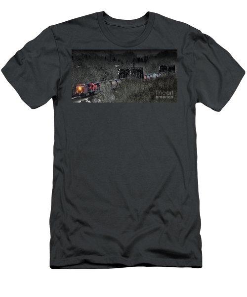 Westbound Grain II Men's T-Shirt (Slim Fit) by Brad Allen Fine Art