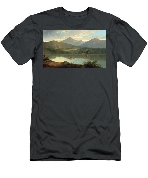 Western Landscape Men's T-Shirt (Athletic Fit)