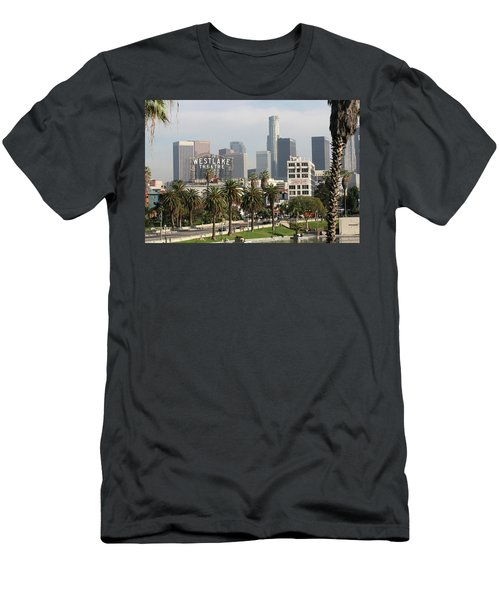Westlake Theatre To Downtown La Men's T-Shirt (Athletic Fit)