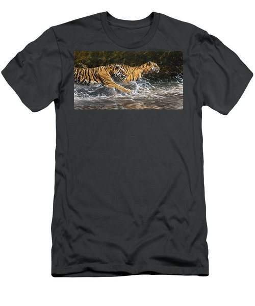 Wet And Wild Men's T-Shirt (Athletic Fit)
