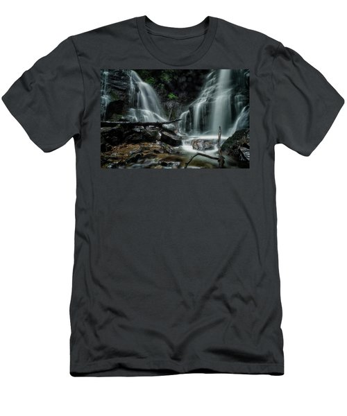 Men's T-Shirt (Athletic Fit) featuring the photograph Wet by Russell Pugh