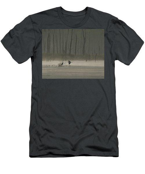 Wetlands Morning Men's T-Shirt (Slim Fit) by Richard Engelbrecht