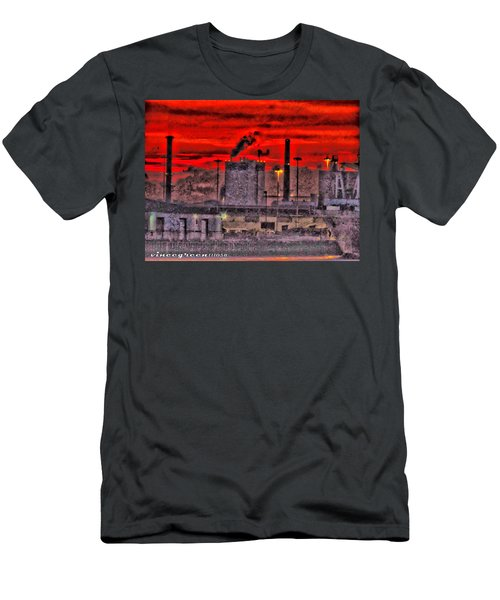 Port Of Savannah Men's T-Shirt (Athletic Fit)