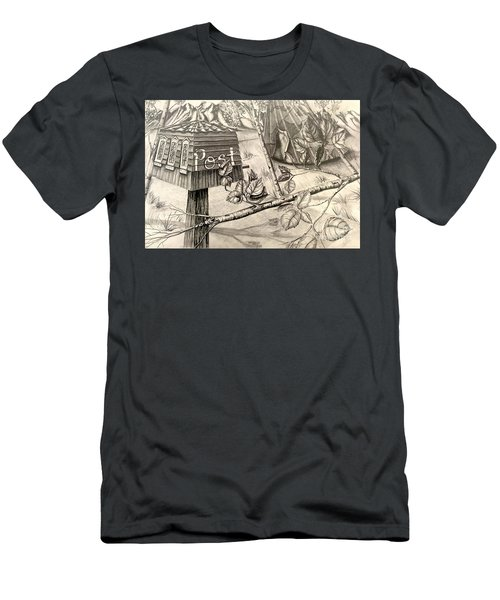 What If Men's T-Shirt (Athletic Fit)