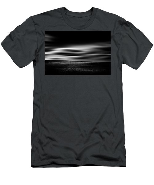 Men's T-Shirt (Slim Fit) featuring the photograph Wheat Abstract by Dan Jurak