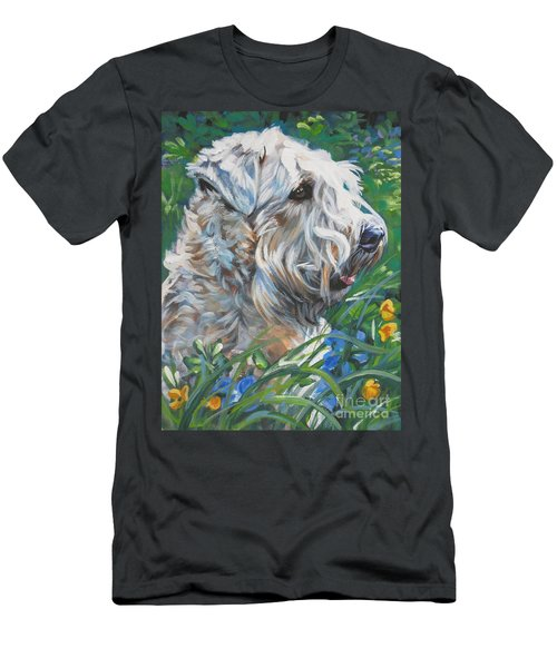 Wheaten Terrier Men's T-Shirt (Athletic Fit)