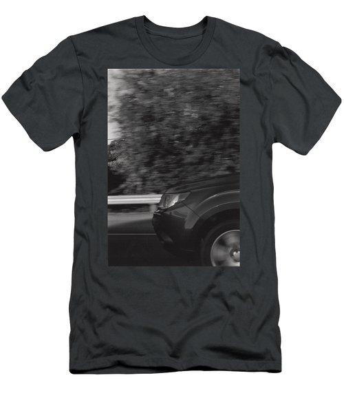 Wheel Blur Photograph Men's T-Shirt (Athletic Fit)