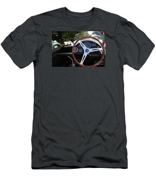 Wheel Men's T-Shirt (Slim Fit) by Gary Bridger
