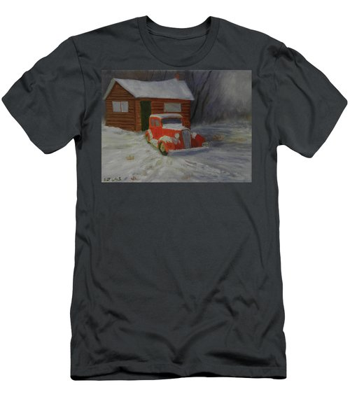 When Cars Were Big And Homes Were Small Men's T-Shirt (Athletic Fit)