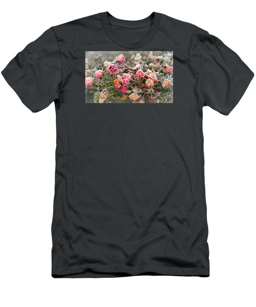 Men's T-Shirt (Slim Fit) featuring the photograph When Love Grows Cold by Katie Wing Vigil