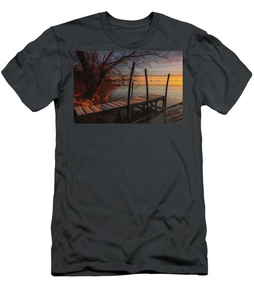 When The Light Touches The Shore Men's T-Shirt (Athletic Fit)