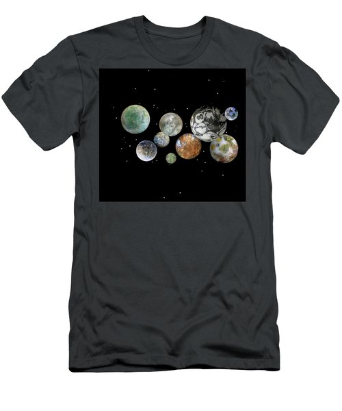 When Worlds Collide Men's T-Shirt (Slim Fit) by Tony Murray