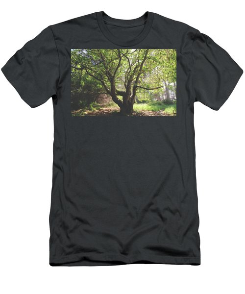 Men's T-Shirt (Slim Fit) featuring the photograph When You Need Shelter by Laurie Search